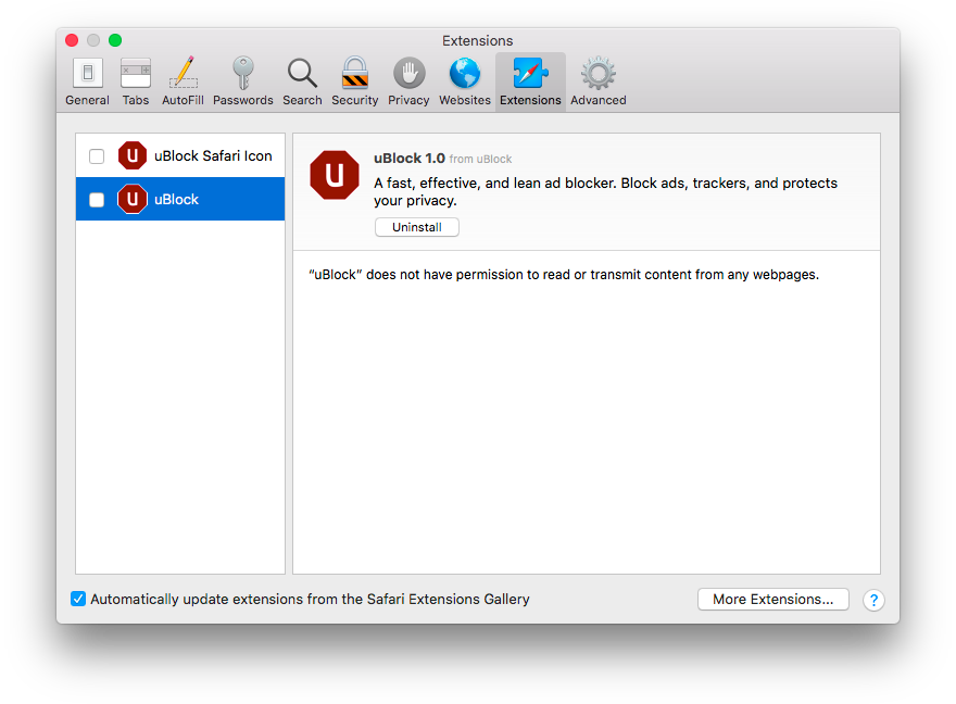 Guide - uBlock - A Fast and Efficient Ad Blocker  Easy on CPU and